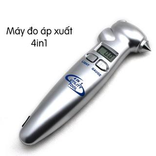 Máy đo áp suất lốp 4 in 1 - Máy đo áp suất lốp thumbnail