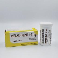 Viên uống bạch biến Meladinine 10mg - Milkmilkshop