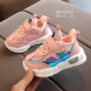 Giày thể thao bé gái, giày thể thao cho bé 1-3 tuổi phong cách Hàn Quốc GE19 - GE19 thumbnail