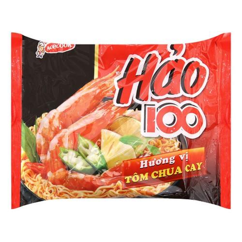 Mì hảo 100 tôm chua cay lốc 5 gói x 65g