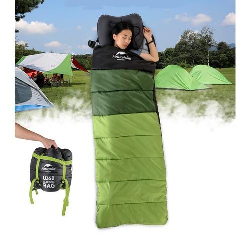 Túi ngủ du lịch dã ngoại ngoài trời, phượt, ngủ trưa văn phòng cao cấp chống thấm nước