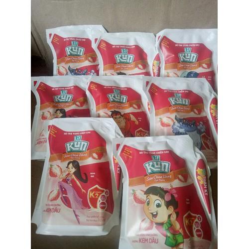 Sữa kun bịch 1thung 24 gói 110ml chính hãng