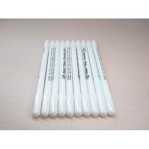 Set 10 bút tự bay màu mực trắng