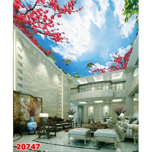 Tranh dán tường trần nhà 3d - 17084633 , 21543453 , 15_21543453 , 159000 , Tranh-dan-tuong-tran-nha-3d-15_21543453 , sendo.vn , Tranh dán tường trần nhà 3d