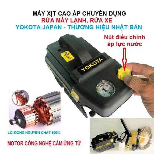 Máy xịt cao áp chuyên dụng-rửa máy lạnh, rửa xe - yokota japan -thương hiệu nhạt bản - 12989377 , 21546942 , 15_21546942 , 2990000 , May-xit-cao-ap-chuyen-dung-rua-may-lanh-rua-xe-yokota-japan-thuong-hieu-nhat-ban-15_21546942 , sendo.vn , Máy xịt cao áp chuyên dụng-rửa máy lạnh, rửa xe - yokota japan -thương hiệu nhạt bản