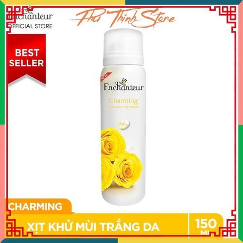 Xịt khử mùi nước hoa enchanteur charming nồng nàn duyên dáng ngăn mồ hôi mùi cơ thể 150ml - 13414921 , 21633024 , 15_21633024 , 75000 , Xit-khu-mui-nuoc-hoa-enchanteur-charming-nong-nan-duyen-dang-ngan-mo-hoi-mui-co-the-150ml-15_21633024 , sendo.vn , Xịt khử mùi nước hoa enchanteur charming nồng nàn duyên dáng ngăn mồ hôi mùi cơ thể 150ml