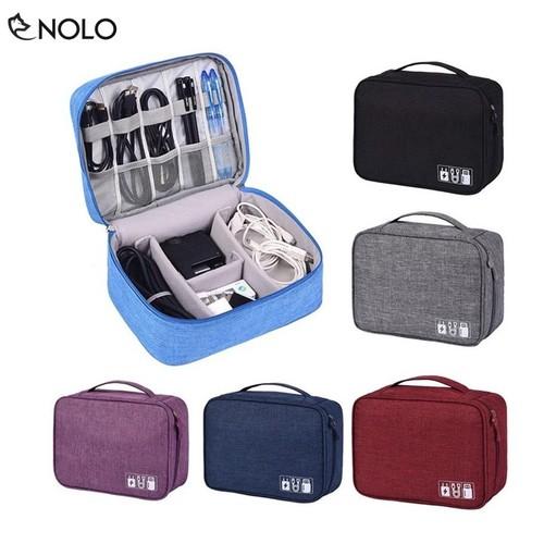 Túi đựng điện thoại, máy ảnh, phụ kiện linh tinh chất liệu vải oxford chống thấm