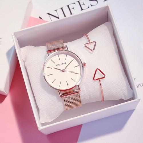 Đồng hồ nữ ulzzang dây kim loại chính hãng thiết kế đơn giản sang trọng - 13371474 , 21580413 , 15_21580413 , 258000 , Dong-ho-nu-ulzzang-day-kim-loai-chinh-hang-thiet-ke-don-gian-sang-trong-15_21580413 , sendo.vn , Đồng hồ nữ ulzzang dây kim loại chính hãng thiết kế đơn giản sang trọng