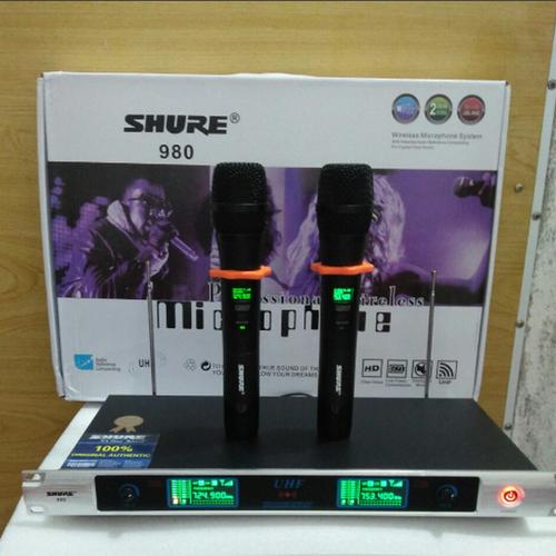 Bộ 2 micro không dây cao cấp shu-u980 - shu-u980