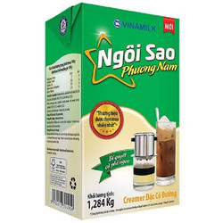 Sữa đặc có đường Ngôi sao phương nam hộp giấy 1,284kg