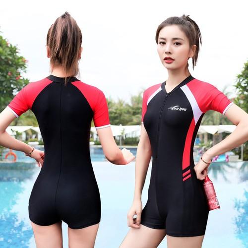 Mã bbw8195r – bộ đồ bơi nữ liền thân ngắn tay