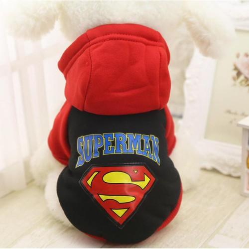 Siêu giảm giá quần áo cho chó mèo áo nỉ superman 2 chân đỏ đen - 13367127 , 21575413 , 15_21575413 , 55000 , Sieu-giam-gia-quan-ao-cho-cho-meo-ao-ni-superman-2-chan-do-den-15_21575413 , sendo.vn , Siêu giảm giá quần áo cho chó mèo áo nỉ superman 2 chân đỏ đen