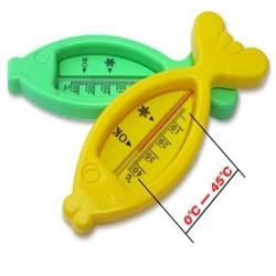 Siêu Rẻ Nhiệt kế hình cá đo nhiệt độ nước tắm Buôn Sỉ