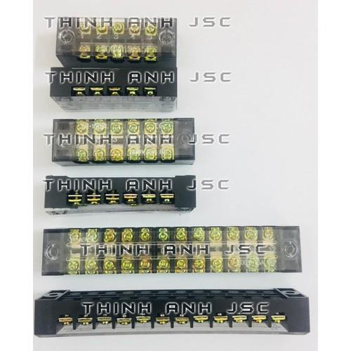Cầu đấu điện 12p 60a - cầu đấu điện tb6012 - domino tb6012