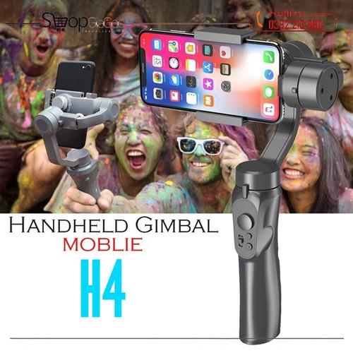 Tay cầm gimbal bluetooth chống rung 3 trục cho điện thoại 3-axis h4