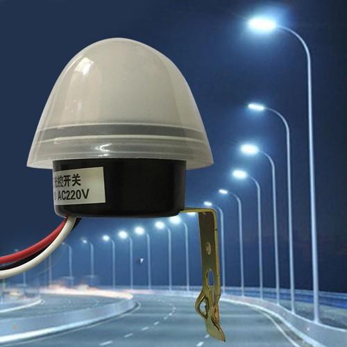 Công tắc cảm biến ánh sáng tự động bật tắt đèn ngoài trời as-20 as20 ac220v