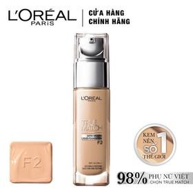 Kem nền mịn da dạng lỏng L'Oreal Paris True Match Liquid Foundation 30ml - 4935421255875-0