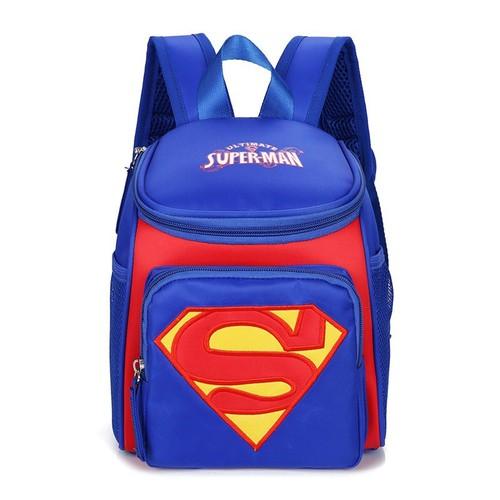 Cặp ba lô chống gù cho bé mẫu giáo hình siêu nhân superman