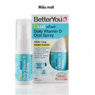 Vitamin D3 dạng xịt của Anh cho trẻ sơ sinh - vitamin d3 thumbnail