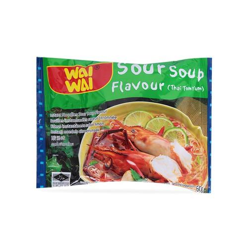 Lốc 5 mì gói lẩu thái tom yum wai wai 60g