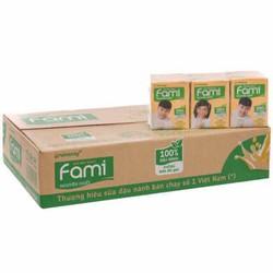Sữa Đậu Nành Fami Nguyên Chất 36 Hộp x 200ml