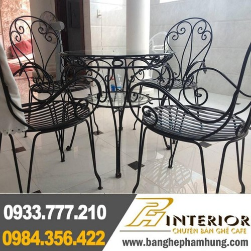 Bàn ghế cafe sân vườn cao cấp