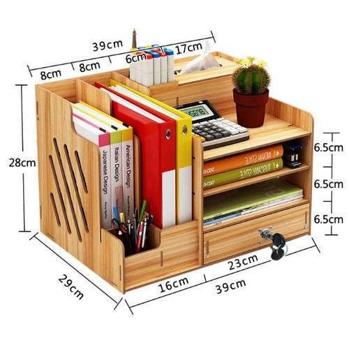 Giá sách gỗ - kệ lắp ghép