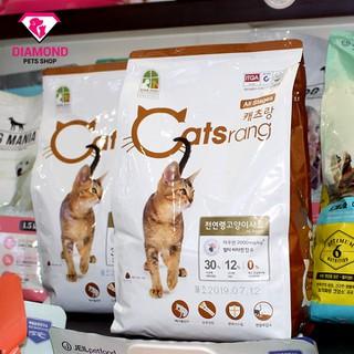 [GIẢM 10]Thức ăn hạt cho mèo mọi lứa tuổi CATSRANG [2kg] [ĐƯỢC KIỂM HÀNG] 21592400 - 21592400 thumbnail