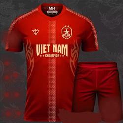Bộ quần áo đá bóng Việt Nam -bộ đồ đá banh cao cấp 2019