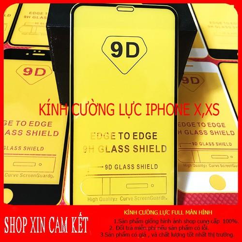 Kính cường lực iphone x,xs full màn hình ,kính cường lực iphone x,xs ,kính cường lực iphone phukiengiatot1