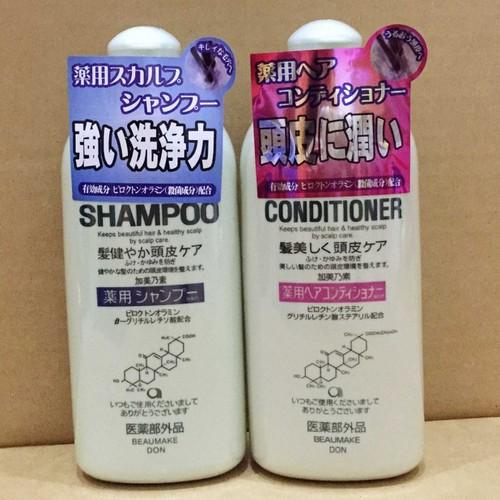 Cặp dầu gội xả kích thích mọc tóc kaminomoto medicated shampoo 2x300ml - 21375616 , 24629807 , 15_24629807 , 199000 , Cap-dau-goi-xa-kich-thich-moc-toc-kaminomoto-medicated-shampoo-2x300ml-15_24629807 , sendo.vn , Cặp dầu gội xả kích thích mọc tóc kaminomoto medicated shampoo 2x300ml