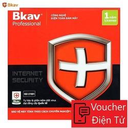 Mã code Phần mềm diệt virus BKAV Profressional 1 PC 12 Tháng