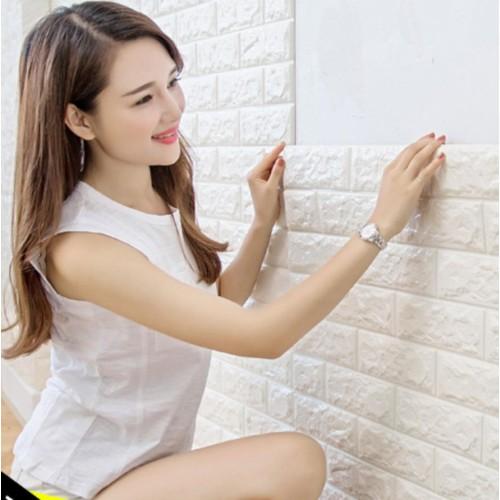 Combo 30 miếng xốp dán tường cách âm ,cách nhiệt 3d phong cách hàn quốc-khổ 70x77cm market vietnam  -  nhiều màu đẹp bạn dễ lựa chọn