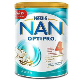 Sữa Bột NAN Optipro 4 1,8kg 2 tuổi - 6 tuổi - Sữa Bột NAN Optipro 4 1,8kg
