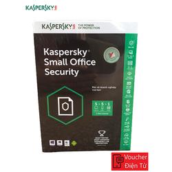 Mã code Phần mềm KASPERSKY SMALL OFFICE SECURITY 05PC + 01FILE SERVER