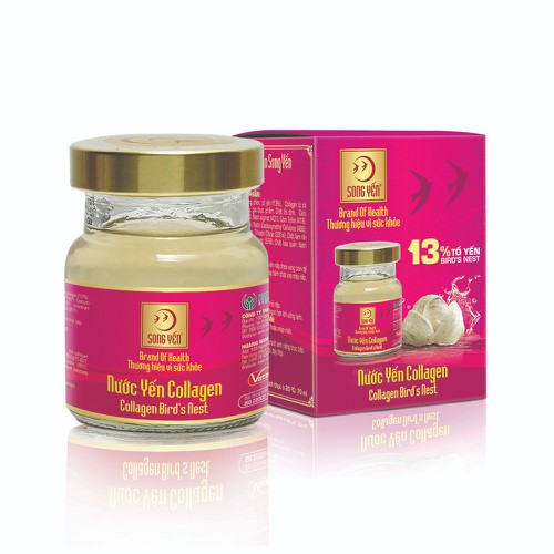 Nước yến collagen song yến - hộp 1 lọ 70ml - 19647451 , 24757512 , 15_24757512 , 55000 , Nuoc-yen-collagen-song-yen-hop-1-lo-70ml-15_24757512 , sendo.vn , Nước yến collagen song yến - hộp 1 lọ 70ml