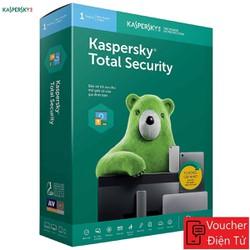 Mã code Kaspersky Total Security Phần mềm gia đình