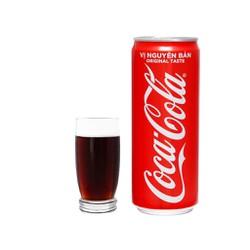 Lốc 6 lon nước ngọt Coca Cola 330ml