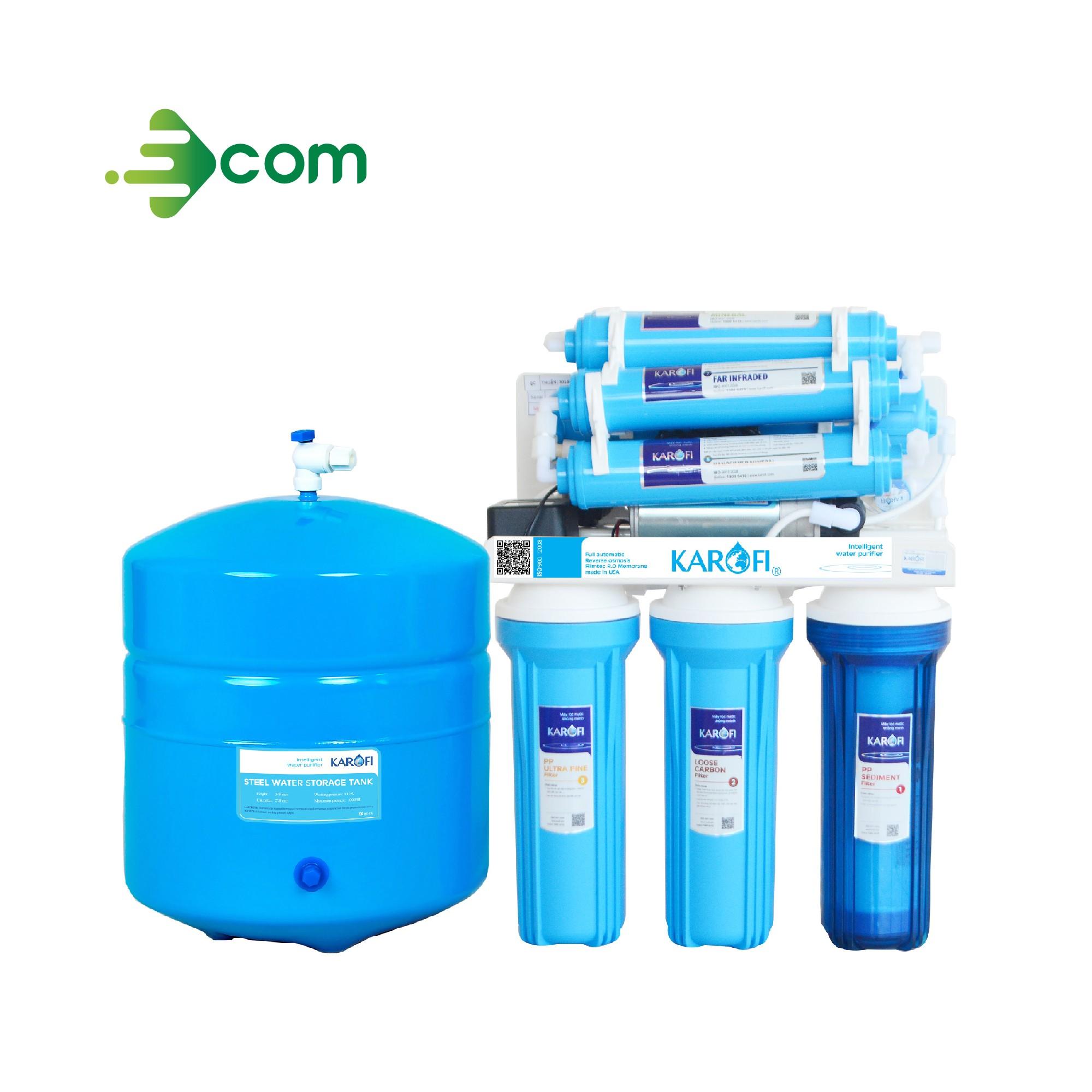 Máy lọc nước Karofi sRO 8 cấp KT-KS80, Không tủ - KT-KS80