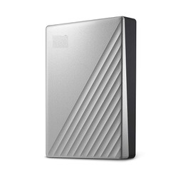 Ổ cứng di động 1TB Western My Passport Ultra  Usb type C màu bạc
