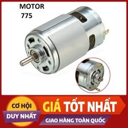 Mô tơ 775 Trục D 5mm 12V Siêu Khỏe, motor 775, chế máy khoan,máy cắt,quạt,máy bơm