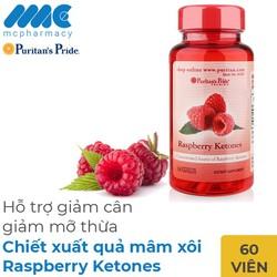 Raspberry Ketones giảm cân từ quả mâm xôi
