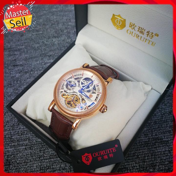 Đồng hồ OURUITE Automatic phong cách thượng lưu - Tặng kèm dây da