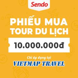 PHIẾU MUATOUR DU LỊCH 10.000.000VNĐ CỦA VIETMAP TRAVEL