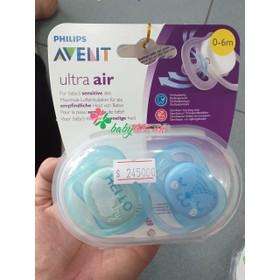 Set 2 ty-ngậm ultra air Avent 0-6m 6-18m - 0608