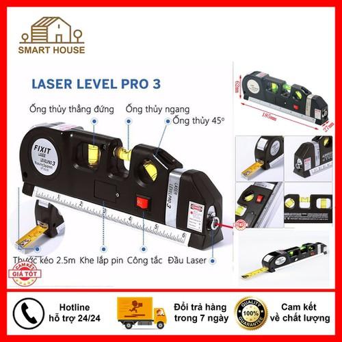 Thước đo ni vô laser đa năng