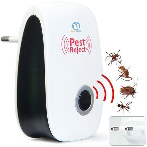 Máy đuổi côn trùng bằng sóng siêu âm pest reject thế hệ mới