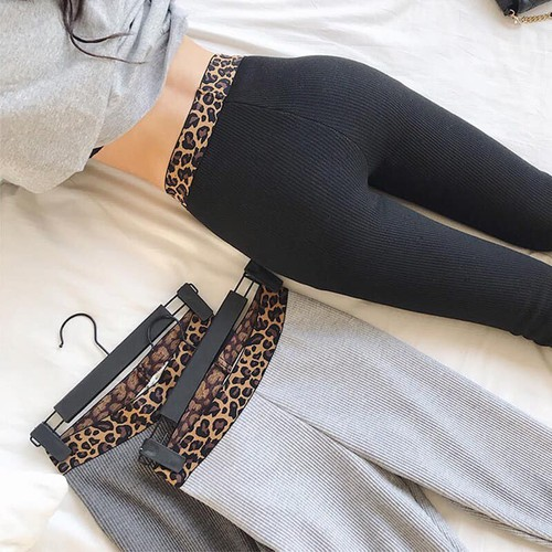 Quần legging len tăm nữ