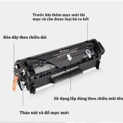 Hộp mực 303 Hàng loại 1 dùng cho máy in Canon 2900 - Hộp mực 12A