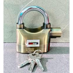 Ổ khóa báo động chống trộm có còi hú KINbar ALARM LOCK 110DBA  2 màu